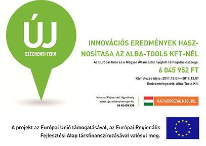 Innovációs eredmények hasznosítása az Alba-Tools Kft.-nél!
