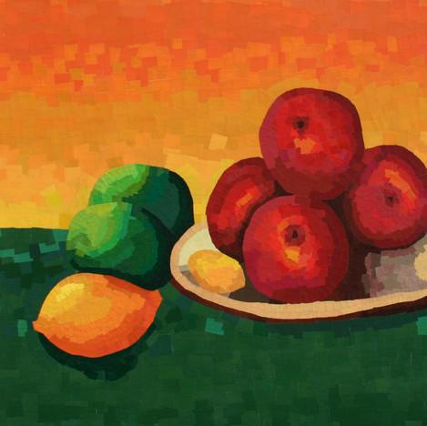 Nature morte avec pommes