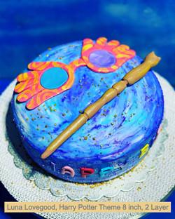 Luna Lovegood Harry Potter Cake