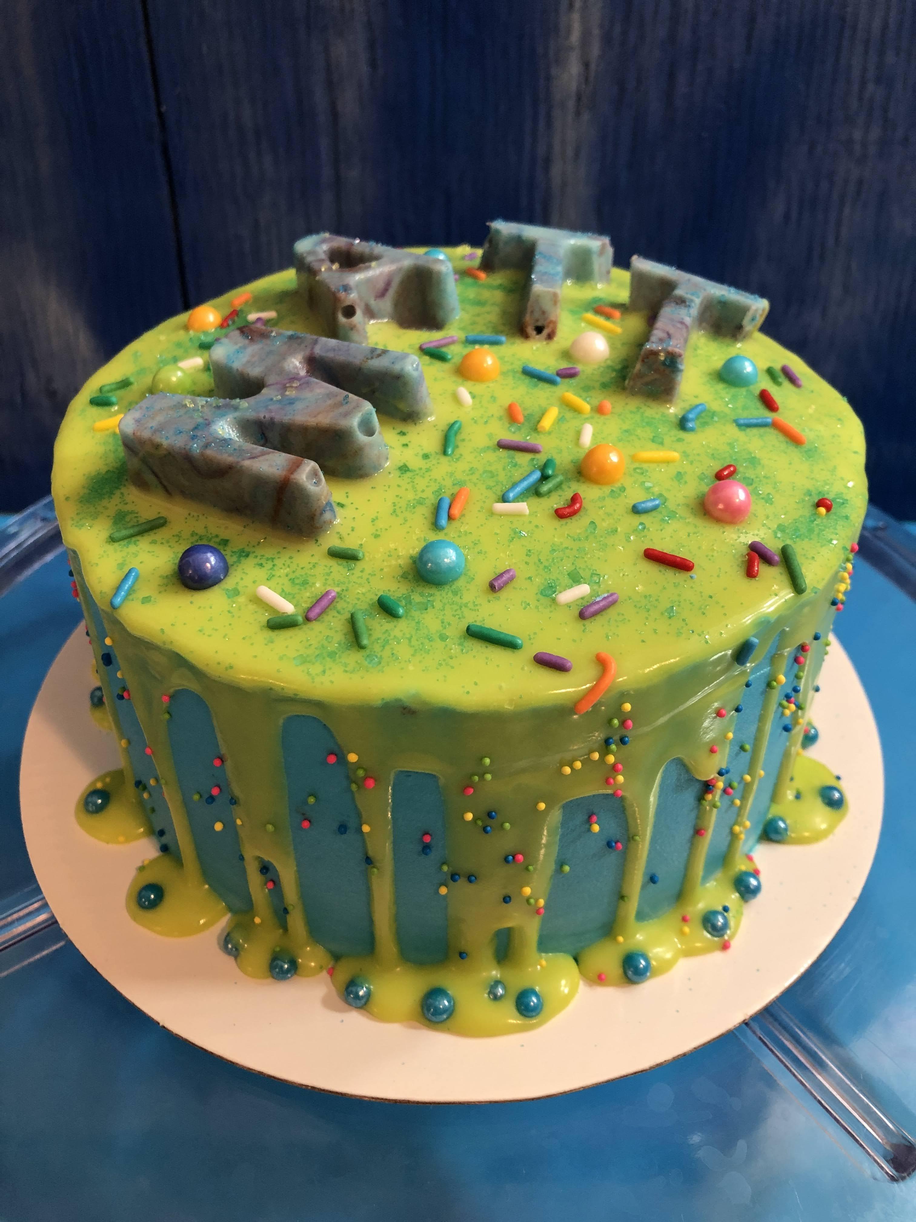 Matt Graduation Cake