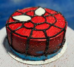 Spiderman Mask Cake v3