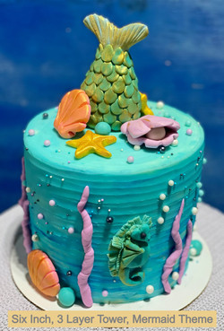 Enchantment Under the Sea Cake