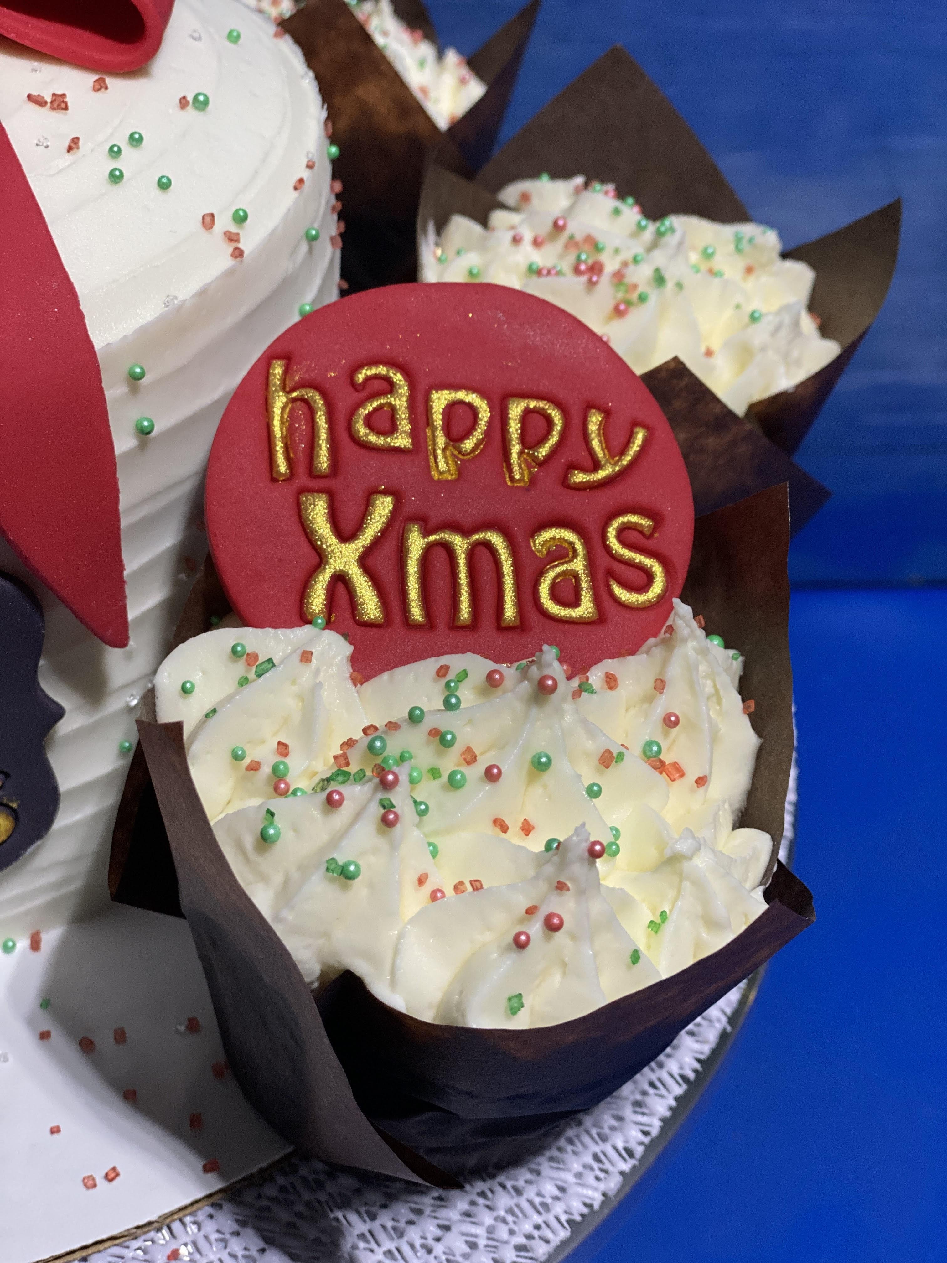 Festive Cupcakes