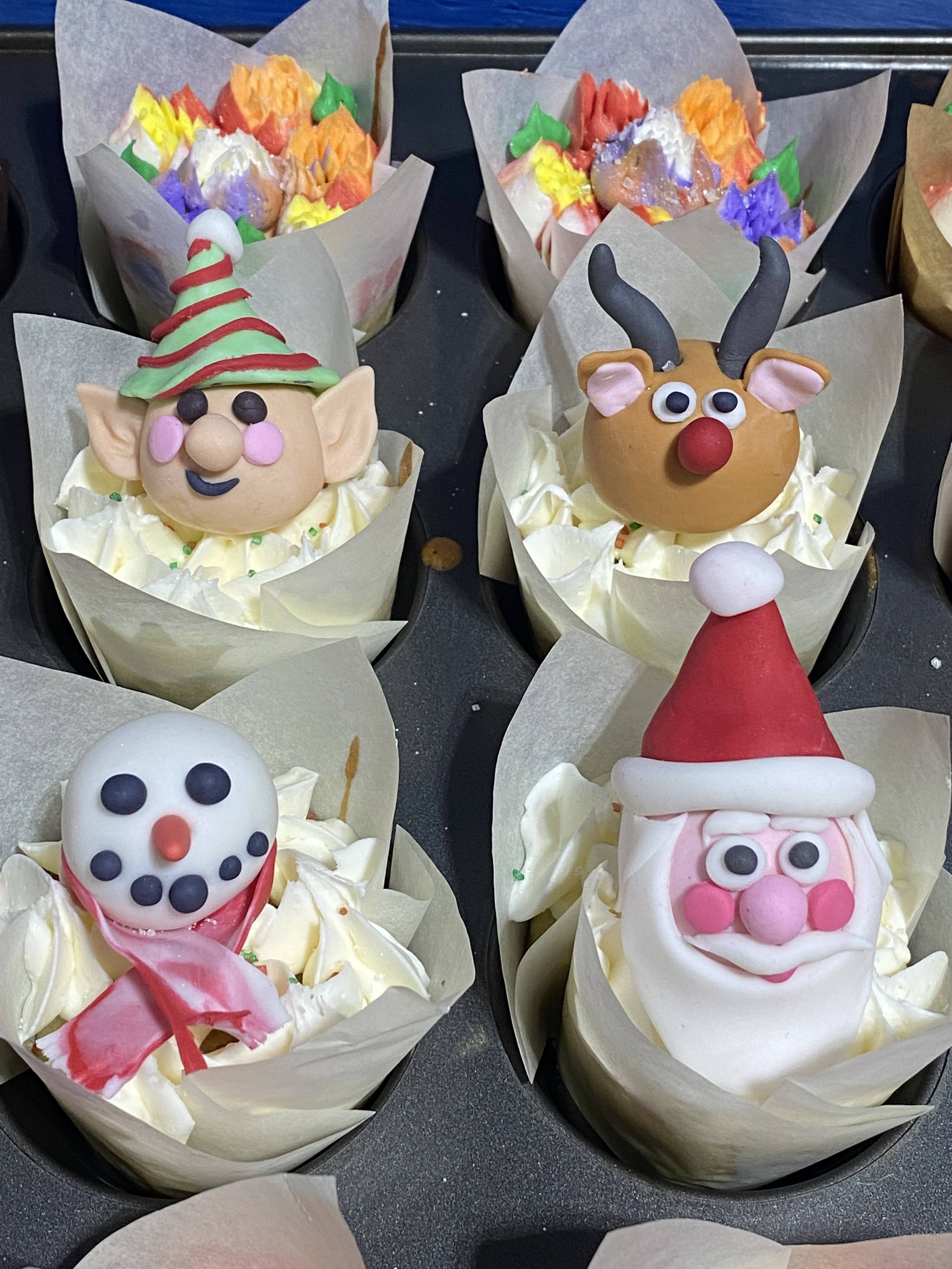 Character Cupcakes
