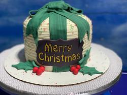 Festive Holiday Cake