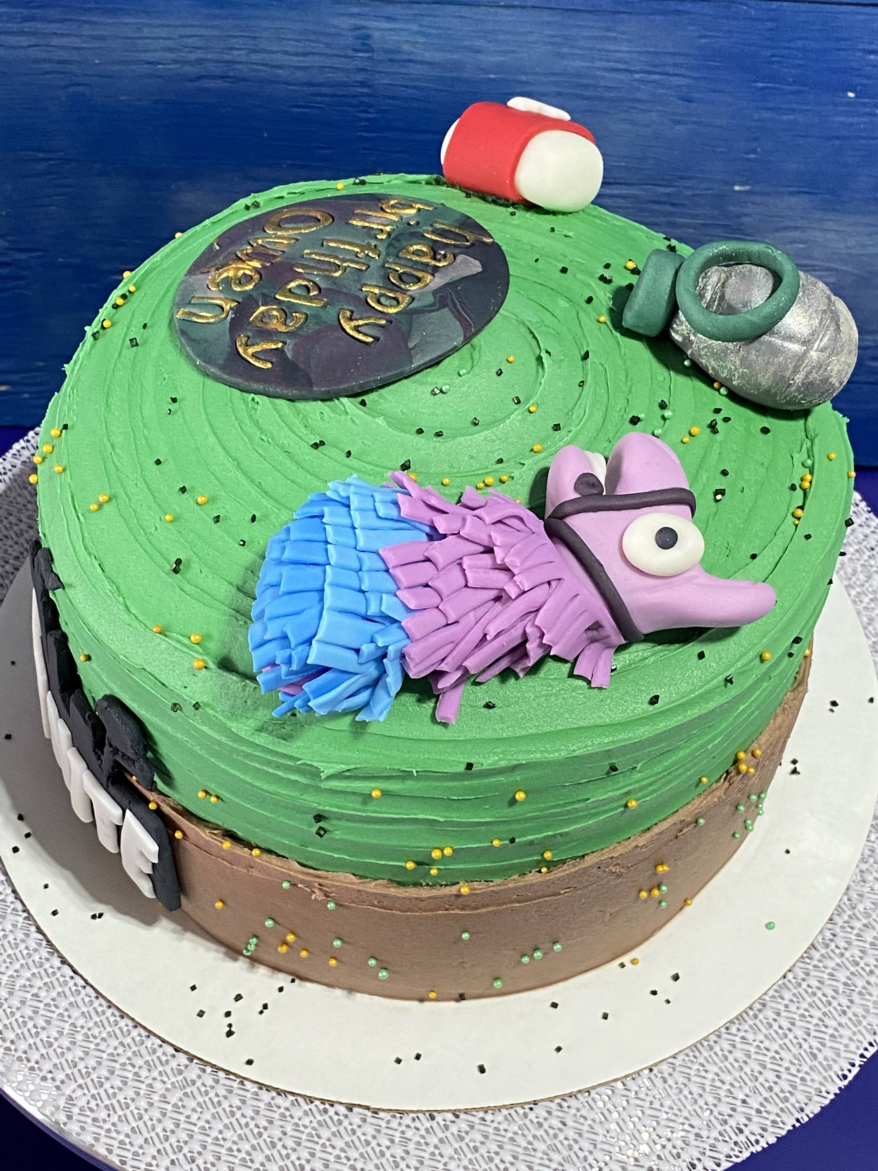 Fortnite Cake Toppers