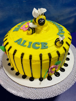 Queen Bee Birthday Cake