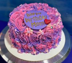 Pink/Purple Swirl Cake