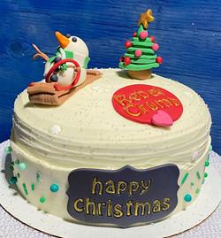 Happy Christmas Cake