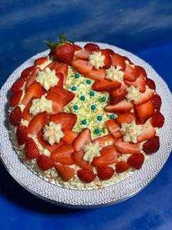 Christmas Strawberry Shortcake