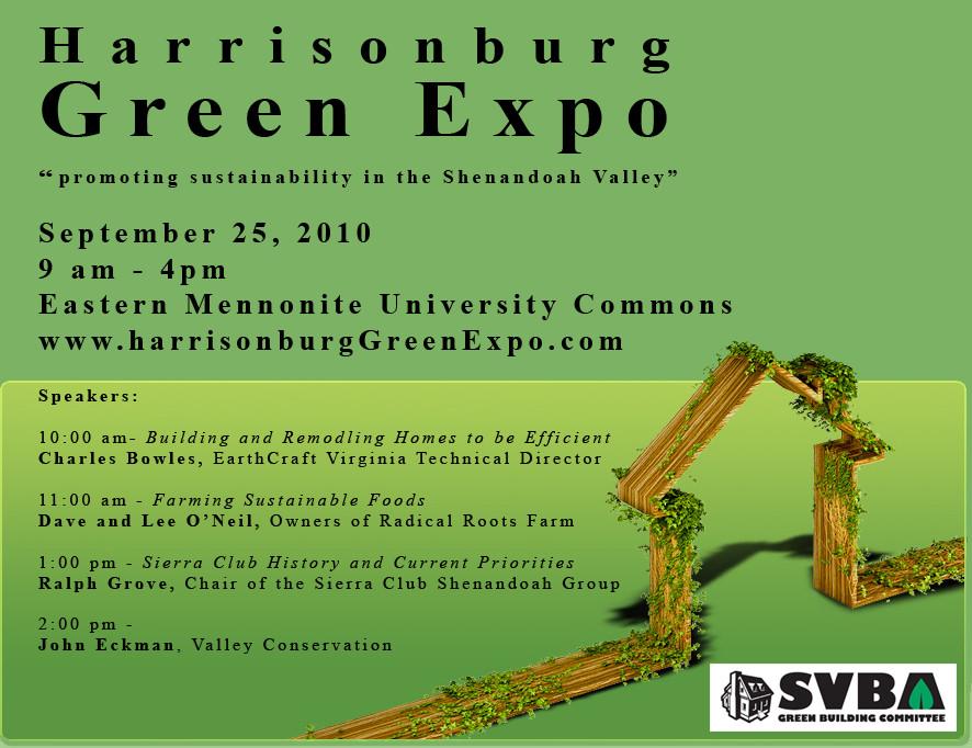 Harrisonburg Green Expo