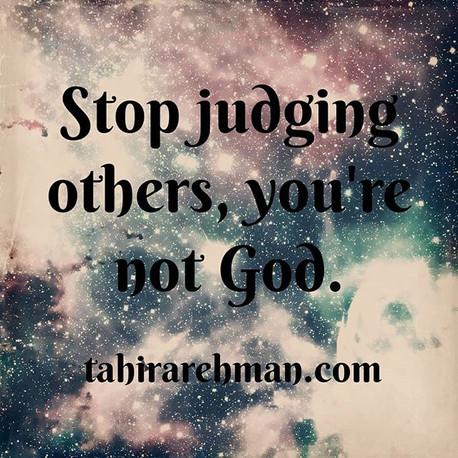 #dontjudge #judgements #godisjudge #quot