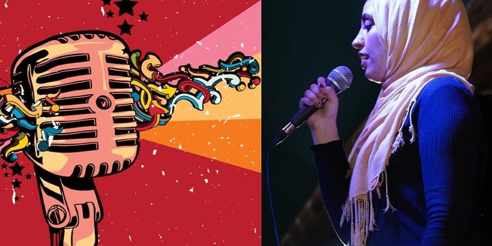 Open Mic Night Featuring Tahira Rehman