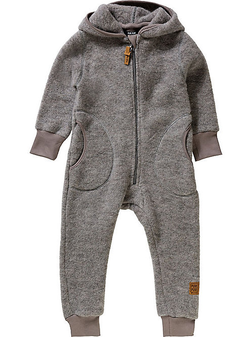 "Pure Pure by Bauer Wollfleece-Overall ""moonrock"""