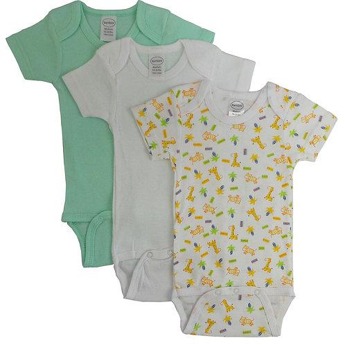 Bambini Boy's Printed Short Sleeve Variety Pack