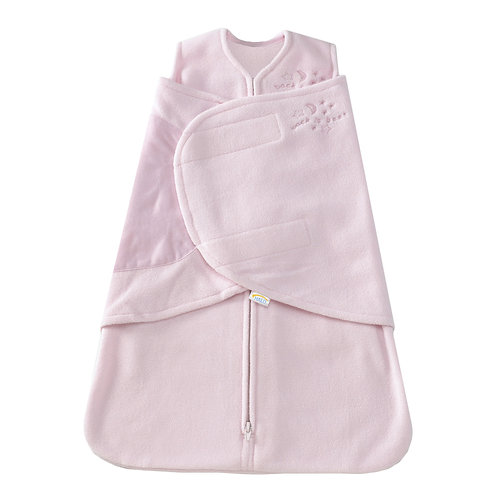 Halo Swaddle SleepSack Micro Fleece - Pink