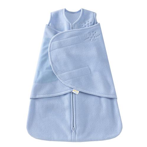 Halo Swaddle SleepSack- Micro Fleece Blue