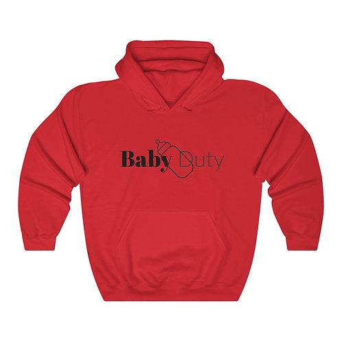 Baby Duty Unisex Heavy Blend™ Hooded Sweatshirt