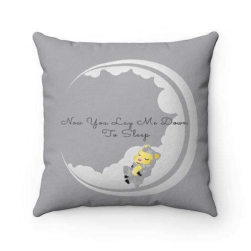 NYLMDTS Spun Polyester Square Pillow