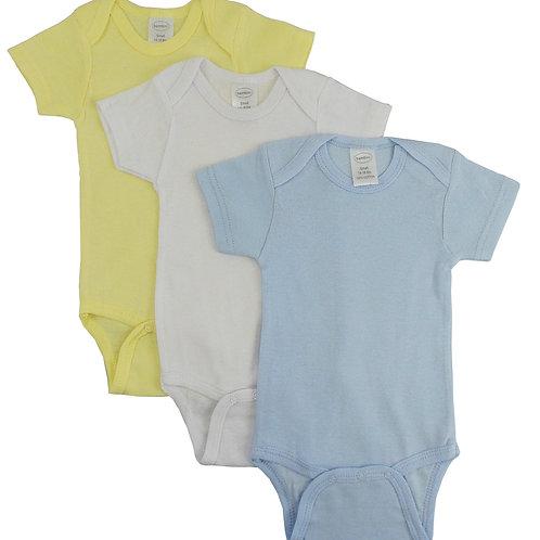 Bambini Pastel Boy's Short Sleeve Variety Pack
