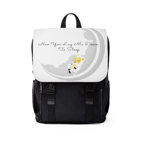 Logo Unisex Casual Shoulder Backpack