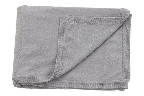 Cotton Cashmere Grey Blanket
