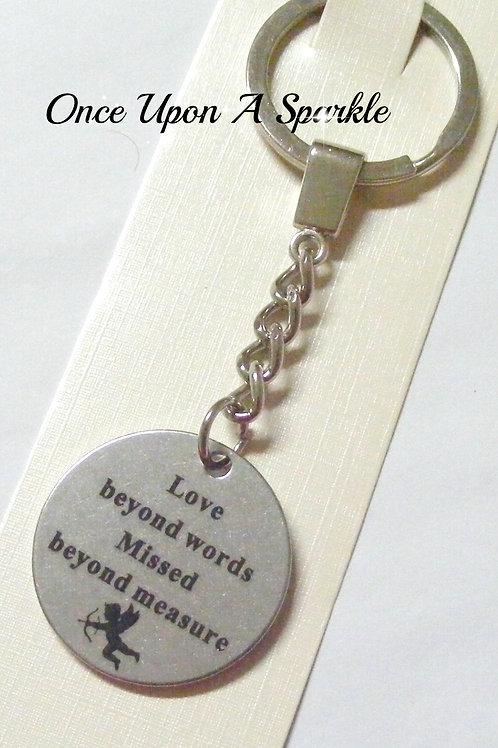 love beyond words missed beyon measure pendant