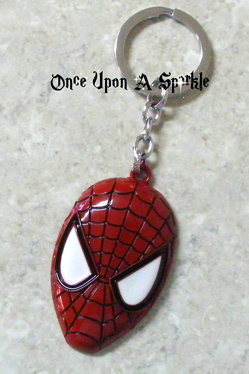 Key Ring Spiderman Face