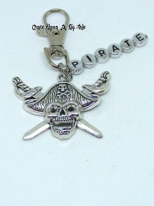 Pirate bag dangle/bag identifier