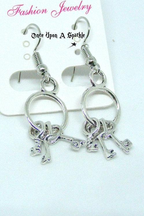 Jailhouse key Earrings