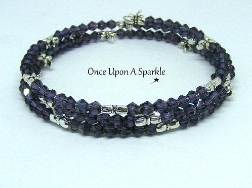 Purple & Dragonfly Wrap