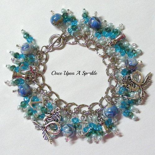 Charm Bracelet - Mermaid at Sea
