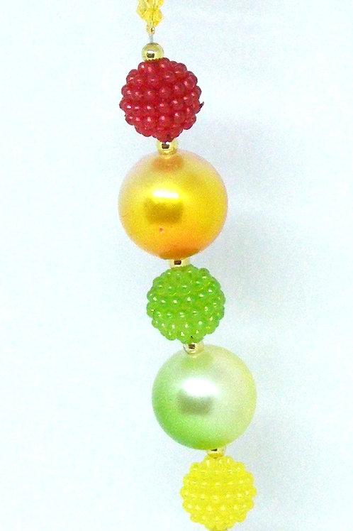 Fruity buble bead dangle