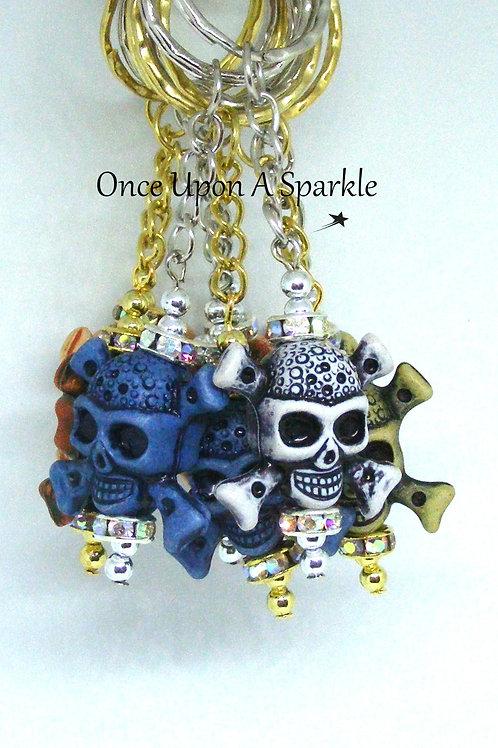 Skull & Crossbone Key Rings