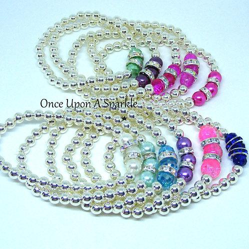 Bracelet Stretch - Triple Bead