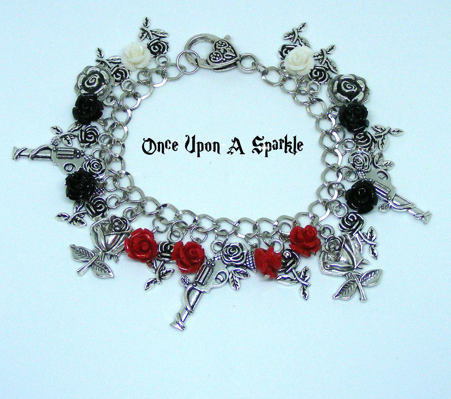 Charm bracelet guns & roses