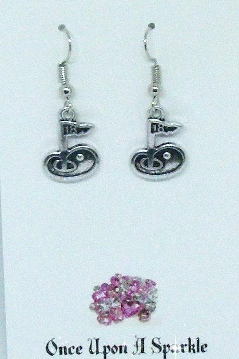 Hook Earrings 18th hole