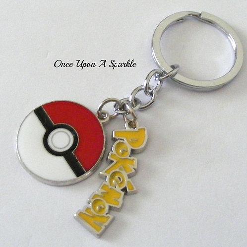Pokeball Key Ring