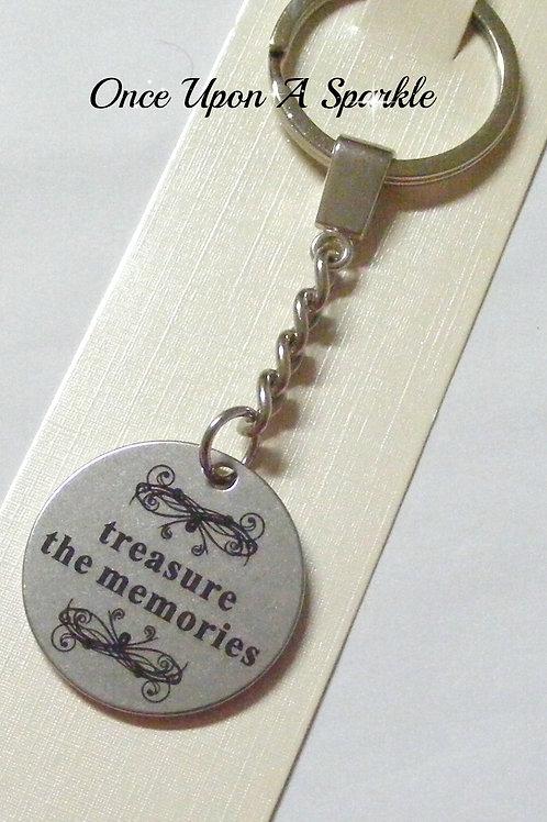 treasure the memories pendant