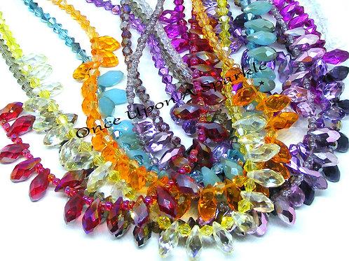 Tear Drop Choker Necklaces