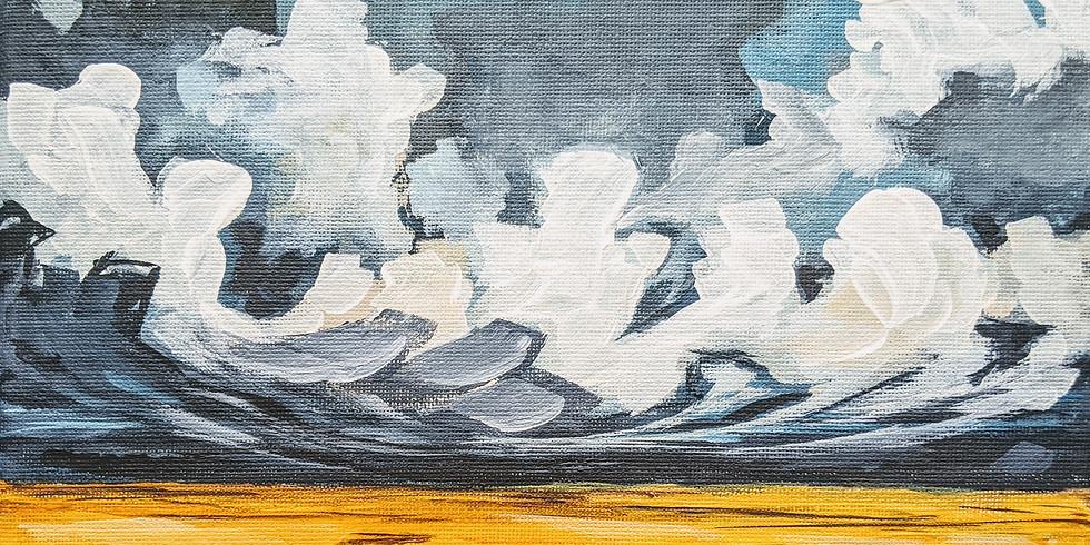 Bouřlivé nebe 14.7.2020