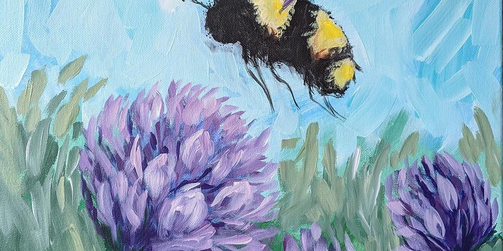 Chlupatá Včela 25.2.2020