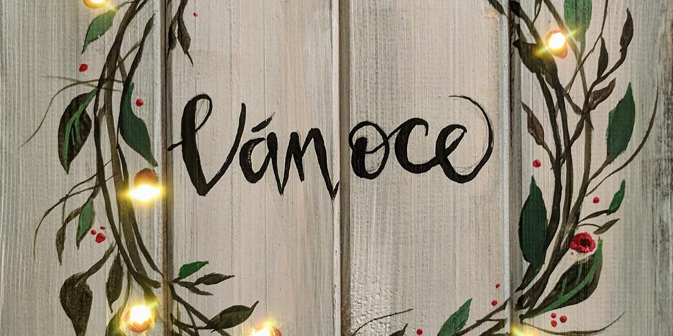 Veselé Vánoce, na dřevo 10.12.2019