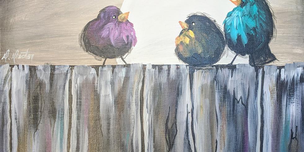 Ptáci na plotě 11.2.2020