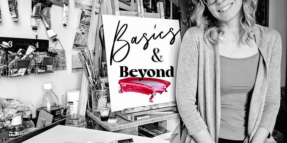 Basics & Beyond Painting Class (June 3rd Consult)