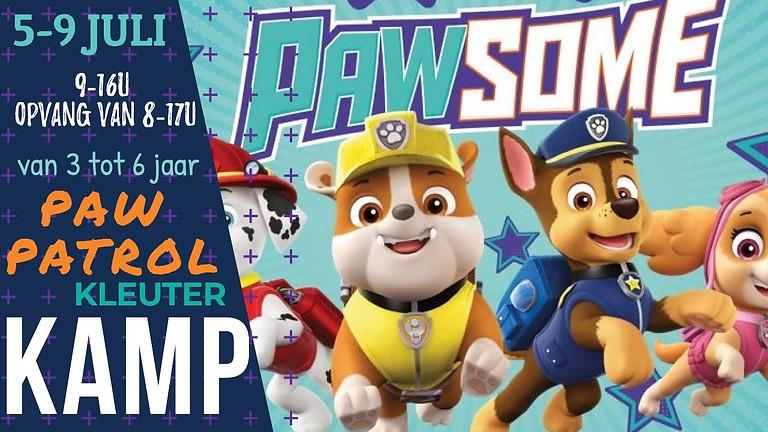 Zomer PAW PATROL/ SPEURNEUZEN: 5-9 juli 2021
