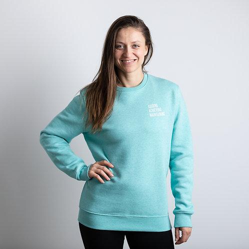 Sweater Munt groen