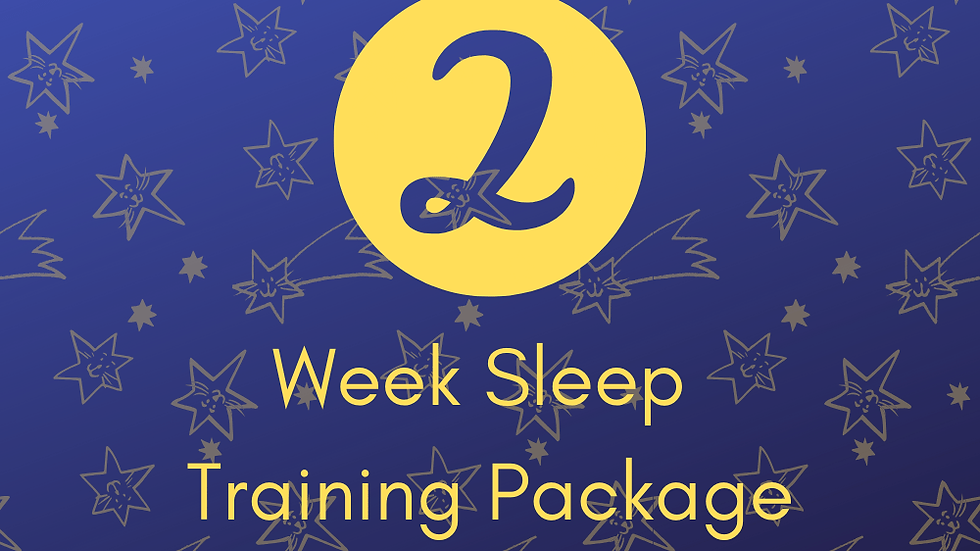2 Weeks Sleep Training Support