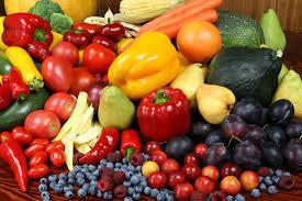 Les fruits et légumes de saison...