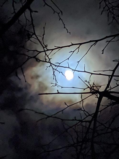 Soin de libération et rituel de purification de la pleine lune